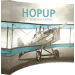 Hopup 10ft Curved Full Height Tension Fabric Display